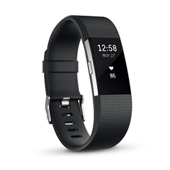 Fitbit フィットネスリストバンドCharge2 Large Black