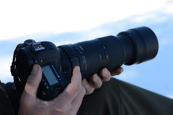TAMRON 100-400mm F4.5-6.3 Di VC USD (Model A035)  望遠ズームレンズ (CANON EFマウント)