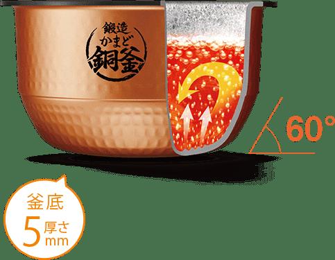 東芝 真空圧力IH 炊飯器 炎匠炊き RC-10VSP(K) [グランブラック] 5.5合 タイプ