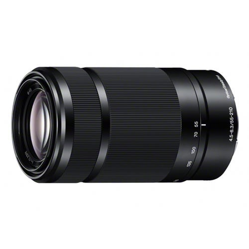 SONY E 55-210mm F4.5-6.3 OSS SEL55210 望遠ズームレンズ