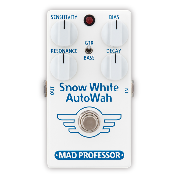 MAD PROFESSOR Snow White Auto Wah For Guitar and Bass
