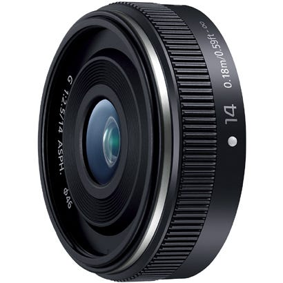 Panasonic LUMIX G 14mm F2.5 II ASPH.  広角 単焦点レンズ