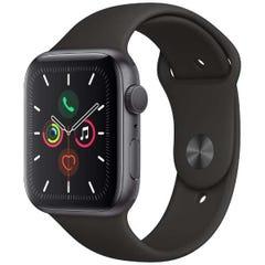 [新品] Apple Watch Series 5(GPSモデル)- 40mm スペースグレイアルミニウムケースとブラックスポーツバンド MWV82JA