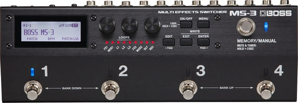 BOSS Multi Effects Switcher MS-3