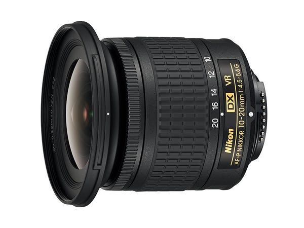 NIKON AF-P DX NIKKOR 10-20mm f/4.5-5.6G VR 広角ズームレンズ