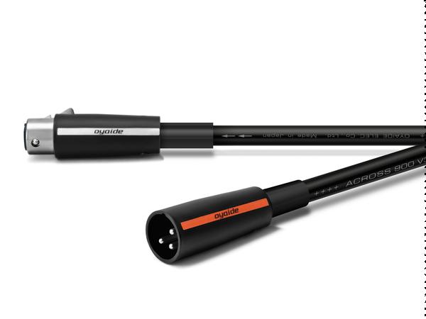 オヤイデ電気 ACROSS900 XX V2 XLRインターコネクトケーブル 1.0mペア