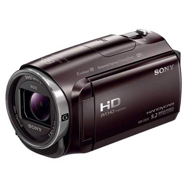 SONY ビデオカメラ HDR-CX675 ブラウン