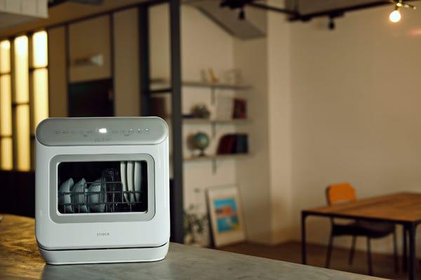 [新品] siroca 食器洗い乾燥機 アドバンスシリーズ SS-MA251[工事不要/オートオープン機能付きタイプ]