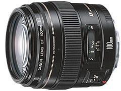 CANON EF100mm F2 USM 単焦点レンズ