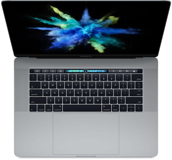 Apple MacBookPro14,3 (15インチ 2017) スペースグレイ メモリ 16GB SSD 512GB A1707