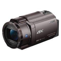 SONY 4Kビデオカメラ FDR-AX40 ブラウン