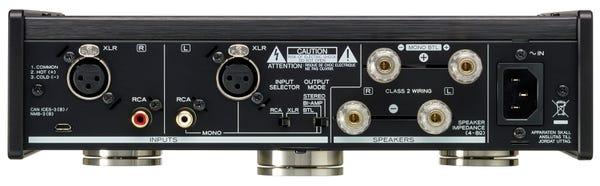 TEAC AP-505 Referenceシリーズ ステレオパワーアンプ ブラック