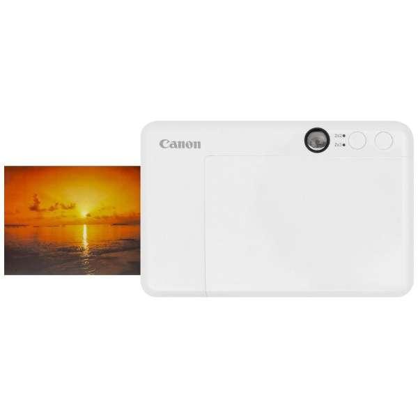 CANON iNSPiC CV-123-WH インスタントカメラプリンター ホワイト