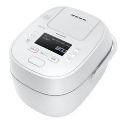 [新品]パナソニック Wおどり炊き SR-MPW100-W ホワイト 0.5合~5.5合炊き