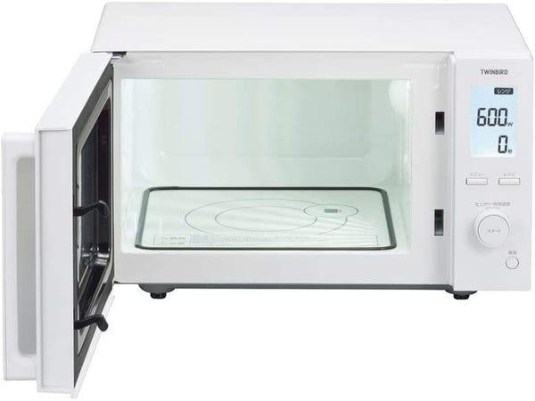[新品]ツインバード 電子レンジ ホワイト DR-F281W