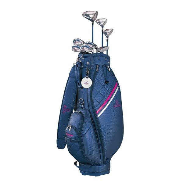 【新品】ゴルフ初心者セット レディース 右用 クリーブランド 8本セット キャディバック付