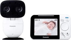 パナソニック モニター付き屋内カメラ  設定不要 ベビーモニター KX-HC705-W
