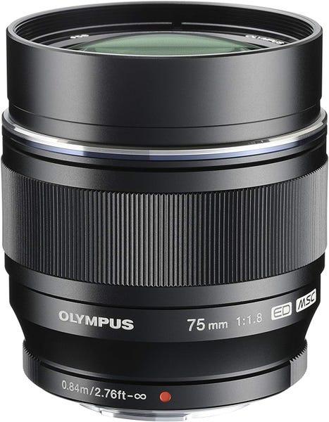 OLYMPUS M.ZUIKO DIGITAL ED 75mm F1.8  単焦点レンズ