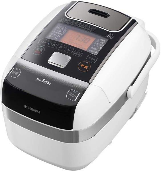 アイリスオーヤマ 炊飯器 3合 米屋の旨み 銘柄量り炊き 圧力IH炊飯器 RC-PC30-W