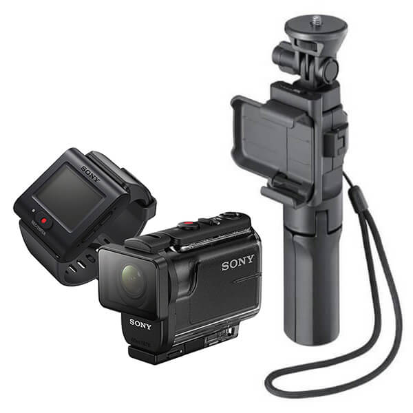 ソニー HDR-AS50R 定番のマウントセット (カメラグリップ)