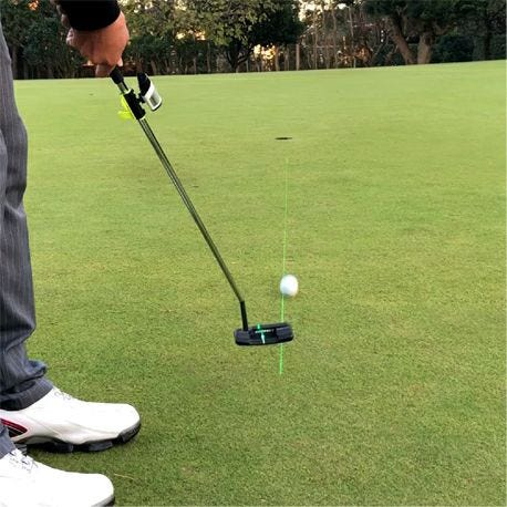 MASA マサ GreenOn ゴルフ レーザーコーチ パッティング パター練習器 スタンダードモデル G013P