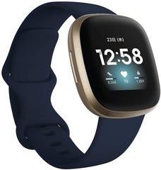 [新品] Fitbit Versa3 Alexa搭載/GPS搭載 スマートウォッチ Midnight/Soft Gold ミッドナイト/ソフトゴールド