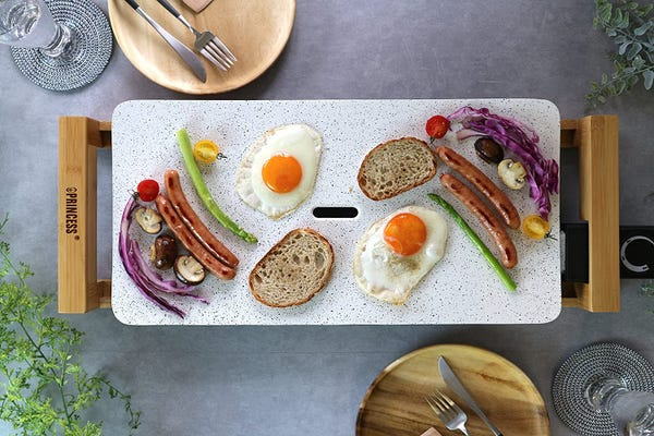 PRINCESS ホットプレート Table Grill Stone ホワイト