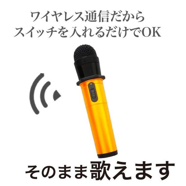 [新品]PENTATONIC GTM-200 ワイヤレスカラオケマイク