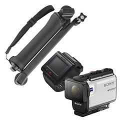 ソニー HDR-AS300R 定番のマウントセット (カメラアーム)