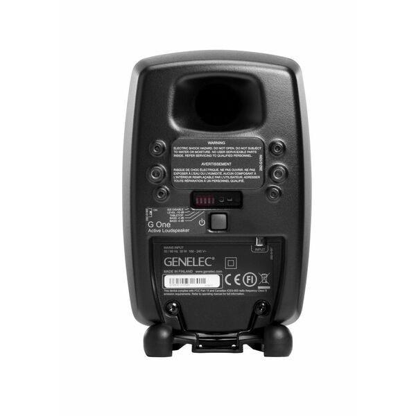 [新品] GENELEC G One アクティブ・スピーカー 2個セット ブラック