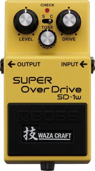 BOSS SUPER OverDrive SD-1W