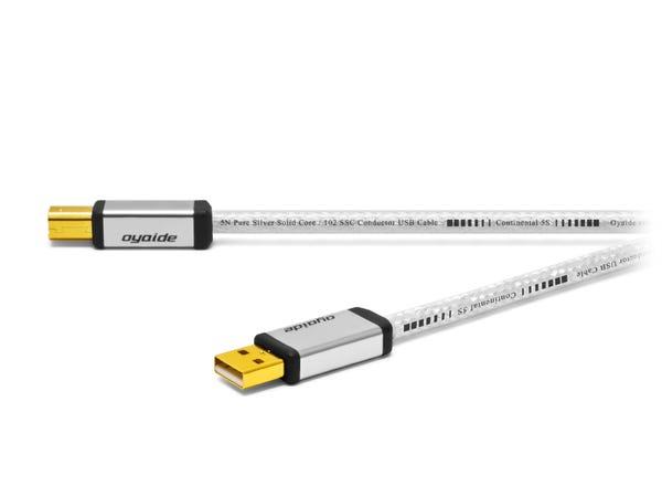 オヤイデ電気 Continental 5S V2 Hi-Fi USBケーブル 1.2m