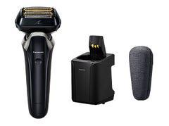 [新品] パナソニック リニアシェーバー ラムダッシュ 6枚刃 ES-LS9AX-K お風呂でも剃れる 全自動洗浄充電器付