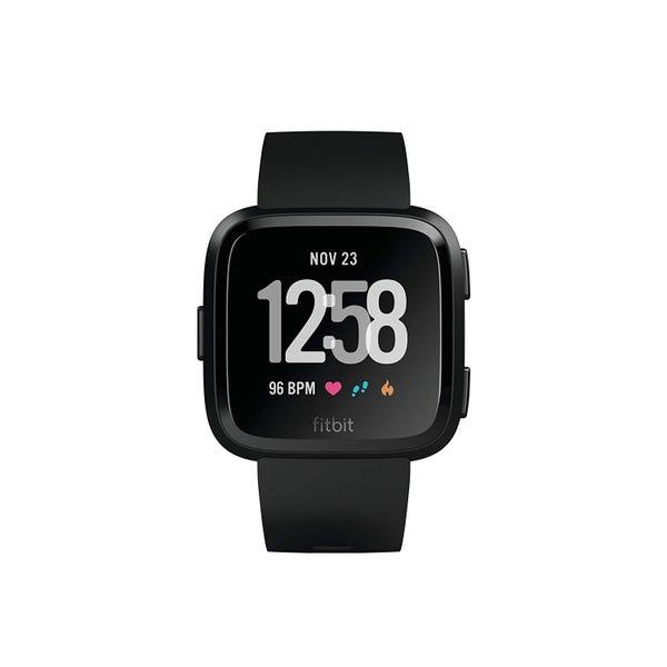 Fitbit フィットネスリストバンド Versa Black