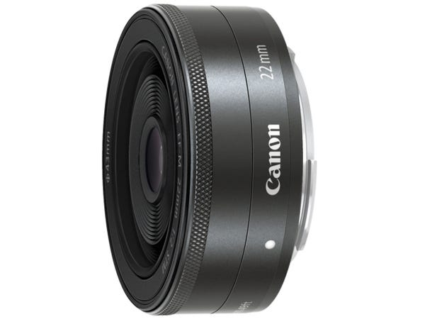 CANON EF-M 22mm F2 STM 単焦点レンズ