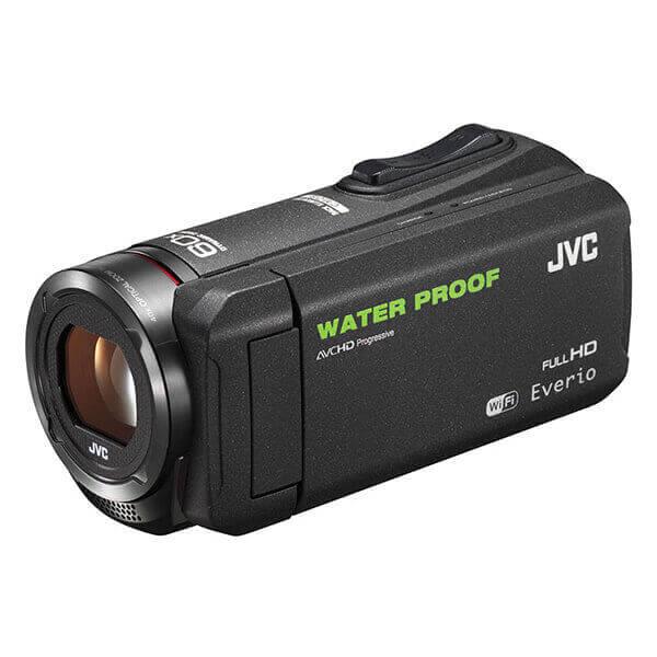JVC 防水ビデオカメラ GZ-RX500 ブラック