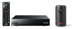 Anker × I-O DATA 「HVTR-BCTX3」+「Nebula Capsule II 」 プロジェクターテレビチューナーセット