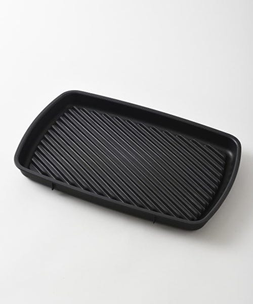 BRUNO ホットプレート グランデサイズBOE026-RD 本体 プレート4種(たこ焼き/平面/深鍋/グリル)