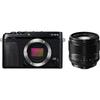 FUJIFILM X-E3 XF56mm F1.2 R 単焦点レンズセット ミラーレス一眼 [レンティオおすすめセット]