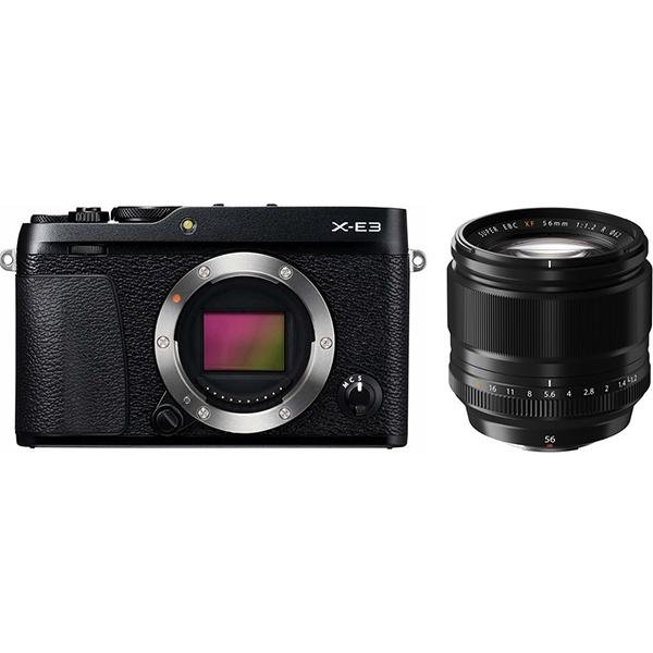 FUJIFILM X-E3 XF56mm F1.2 R 単焦点レンズセット ミラーレス一眼 [Rentioおすすめセット]