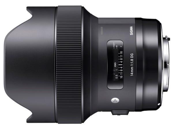 SIGMA 14mm F1.8 DG HSM 単焦点レンズ (CANON EFマウント) 450540