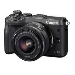 CANON EOS M6 EF-M15-45mmレンズキット(ブラック) ミラーレス一眼