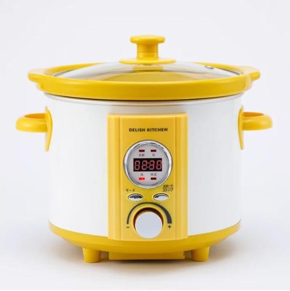 [新品] DELISH KITCHEN コトコト煮込みシェフ 電気調理なべ スロークッカー ASC-22D/Y