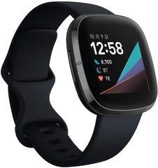[新品] Fitbit Sense Alexa搭載/GPS搭載 スマートウォッチ Carbon/Graphite カーボン/グラファイト