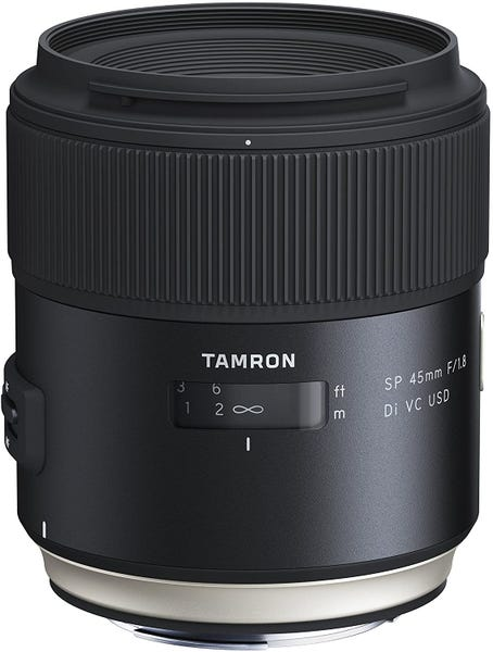 TAMRON SP 45mm F/1.8 Di VC USD 単焦点レンズ (CANON EFマウント)