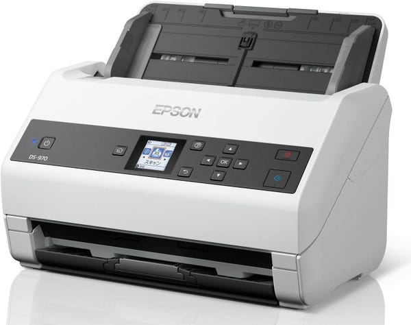 EPSON A4シートフィードスキャナー DS-970