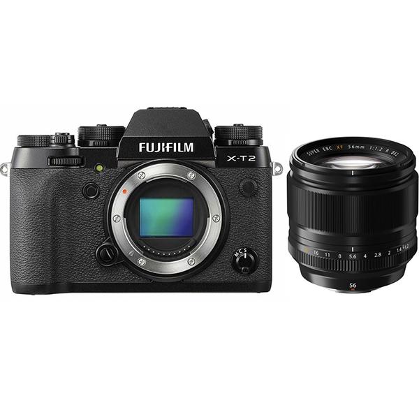 FUJIFILM X-T2 XF56mm F1.2 R 単焦点レンズセット ミラーレス一眼 [Rentioおすすめセット]