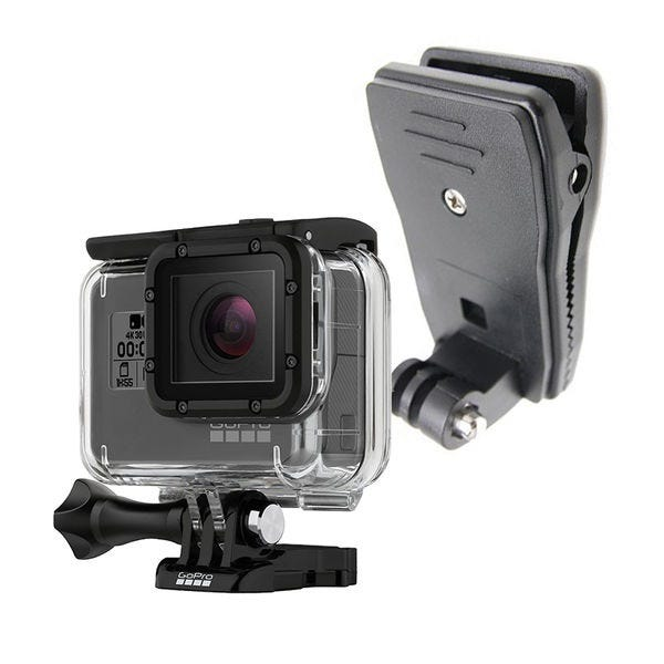 GoPro HERO6 Black 定番のマウントセット(クリップマウント)