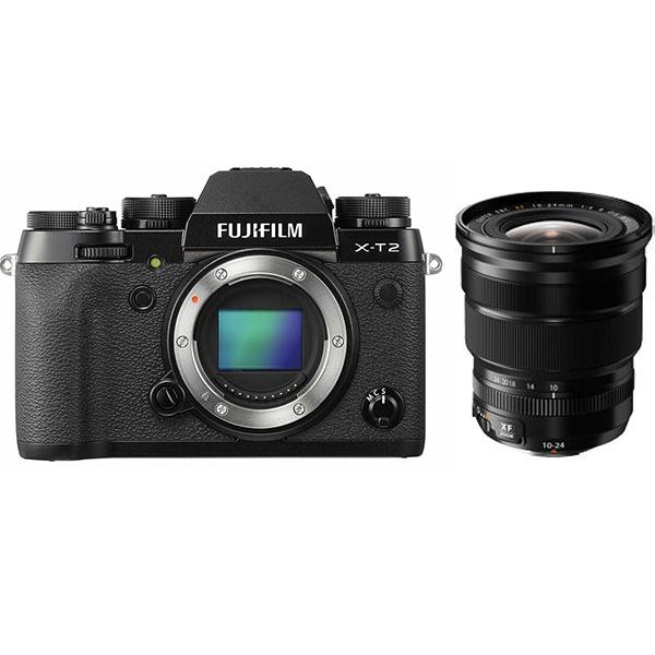 FUJIFILM X-T2 10-24mmF4 R OIS レンズセット ミラーレス一眼 [Rentioおすすめセット]