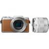 Panasonic LUMIX DMC-GF7 ブラウン ズーム レンズキット ミラーレス一眼